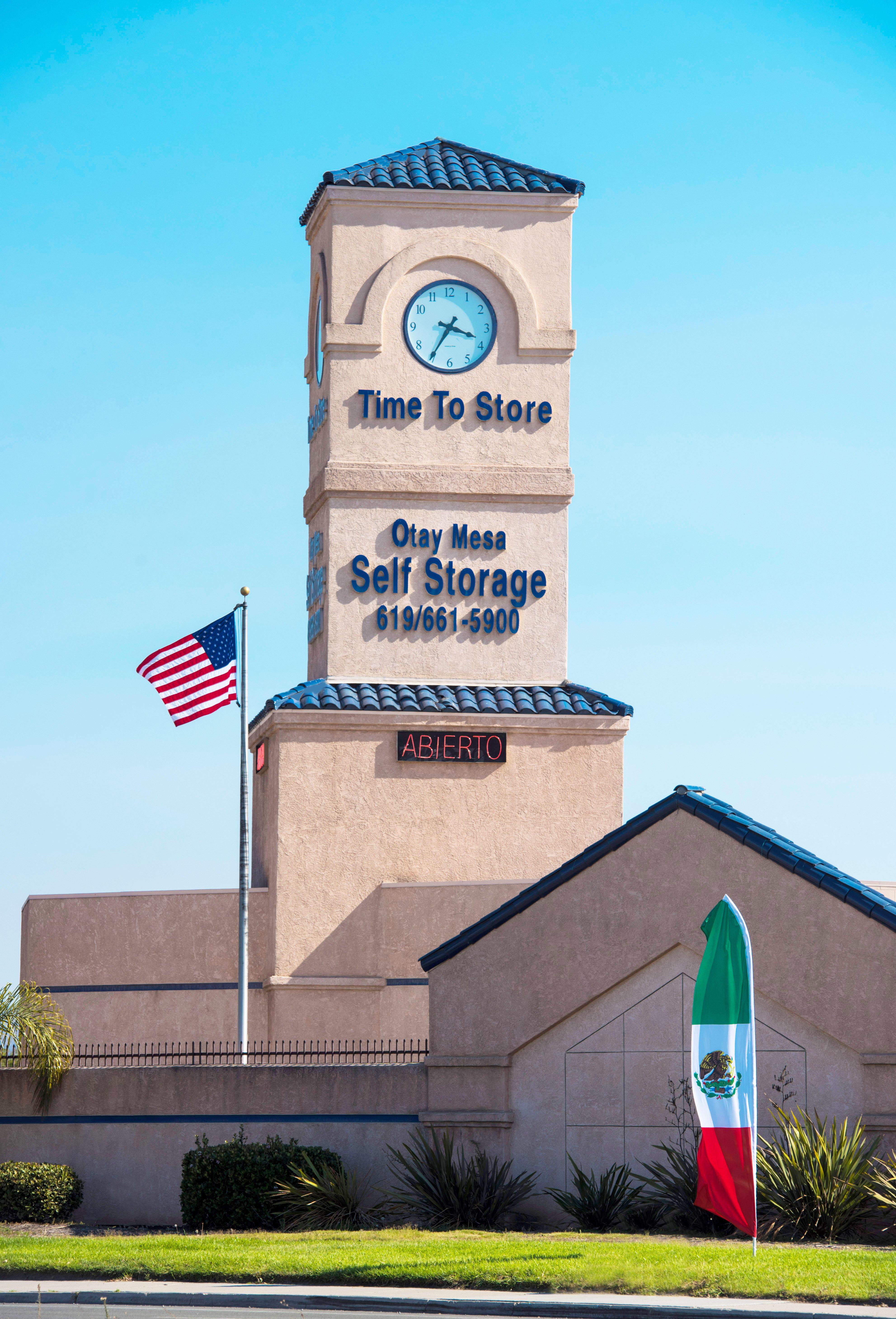 Otay Mesa Self Storage San Diego California Ca