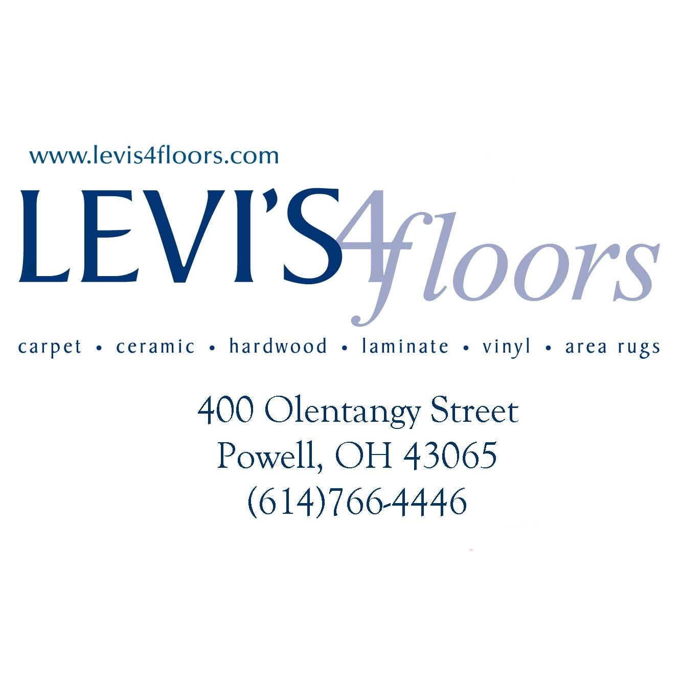 Levi's 4 Floors - Powell, OH - Carpet & Floor Coverings