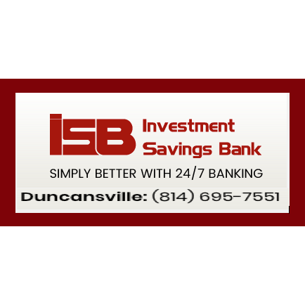 Investment Savings Bank - Duncansville, PA - Banking