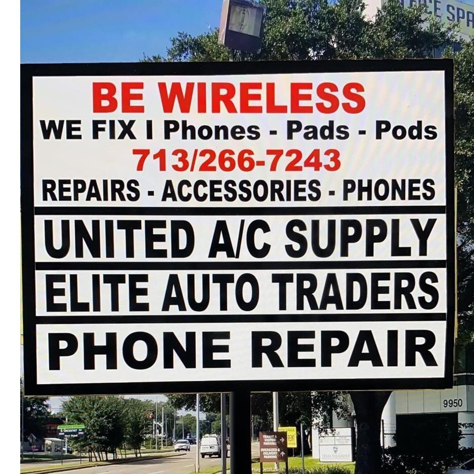 BE WIRELESS iPhone, iPad, & iPod Repair Center
