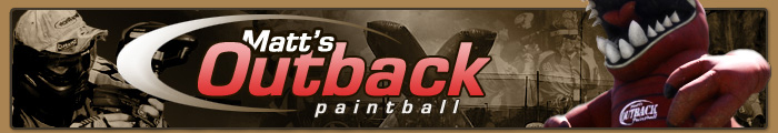 Matts Outback Paintball