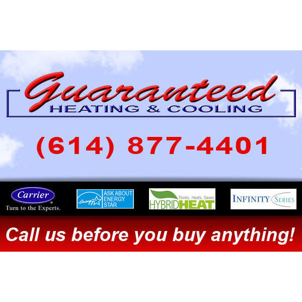 Guaranteed Heating & Cooling - Grove City, OH - Heating & Air Conditioning