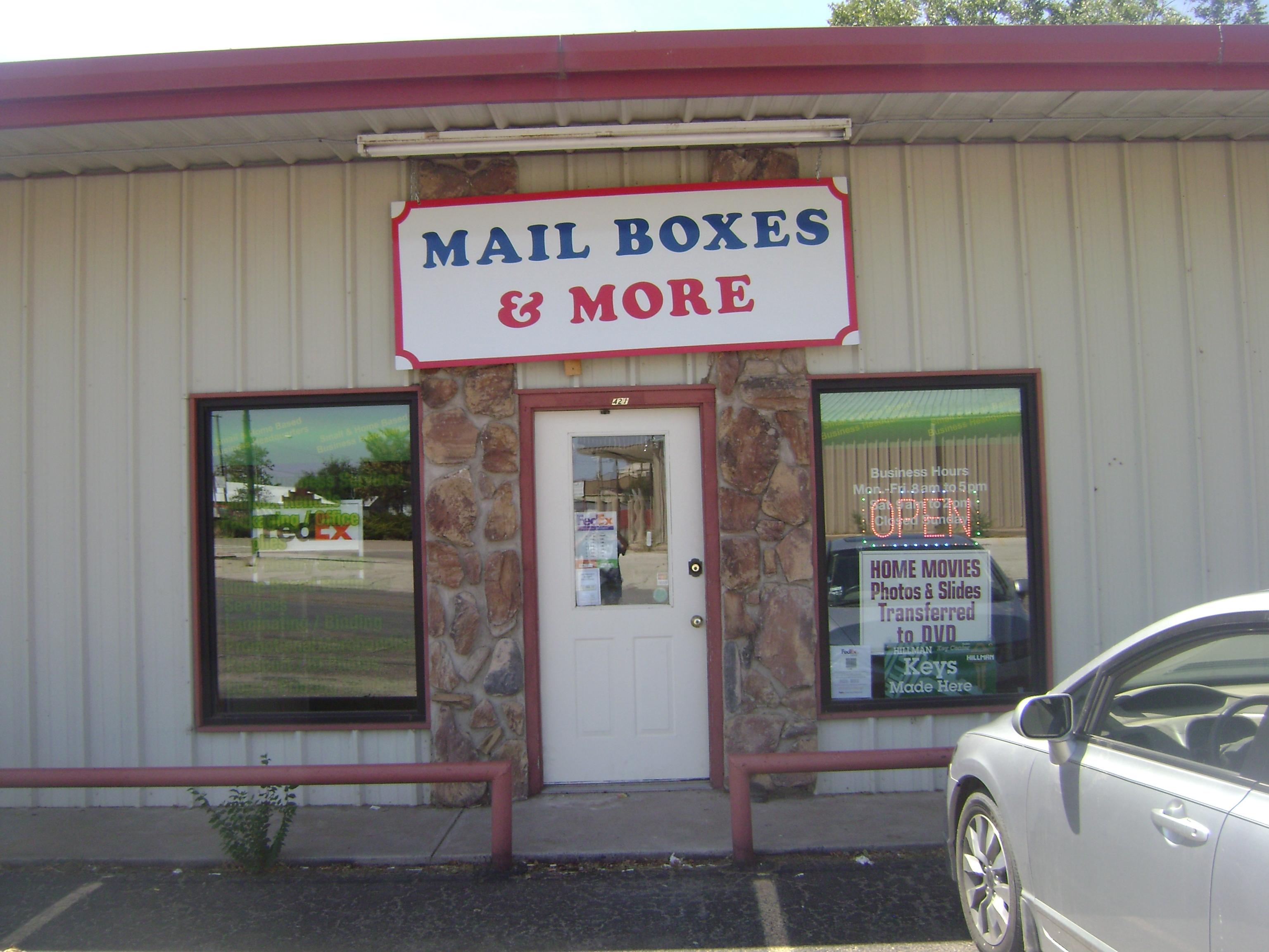 MailBoxes & More - Colorado City, TX