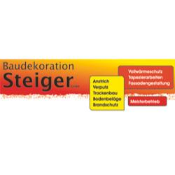 Baudekoration Steiger GmbH, Meisterbetrieb