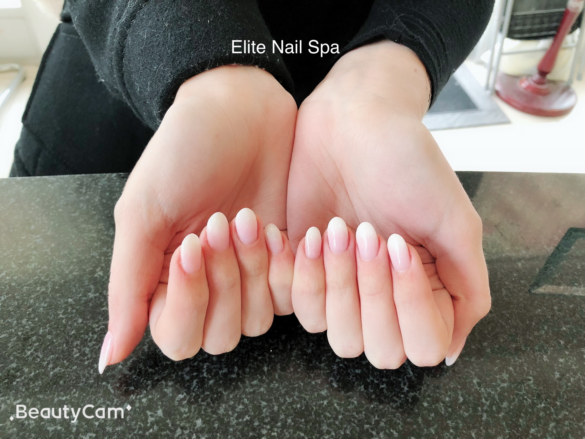Elite Nail Spa in Whitby: Beautiful Ombré Dip Powder Nails!