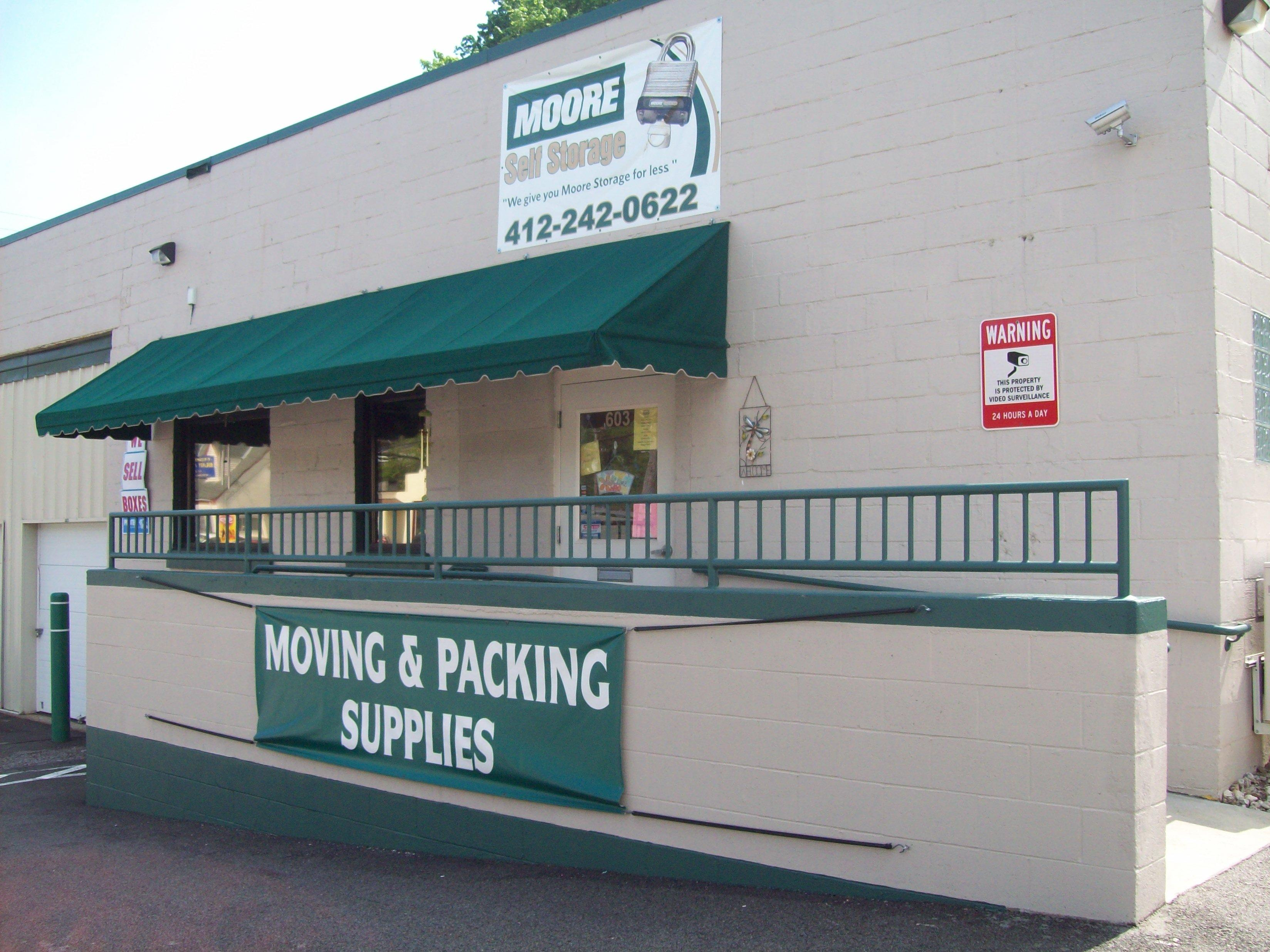 Moore Self Storage Pittsburgh Pennsylvania Pa