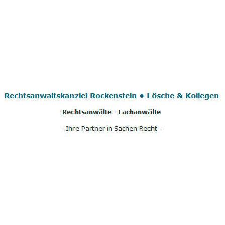 Rechtsanwaltskanzlei Rockenstein • Lösche & Kollegen