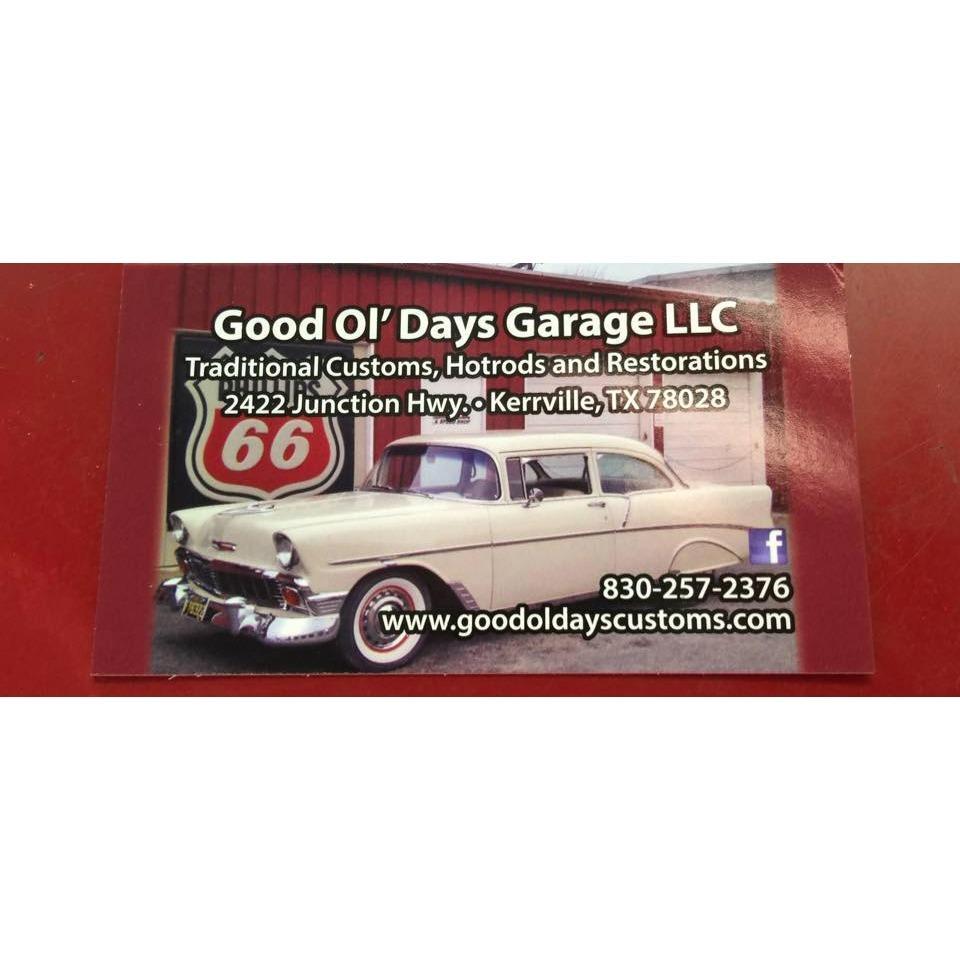 Good Ol Days Garage