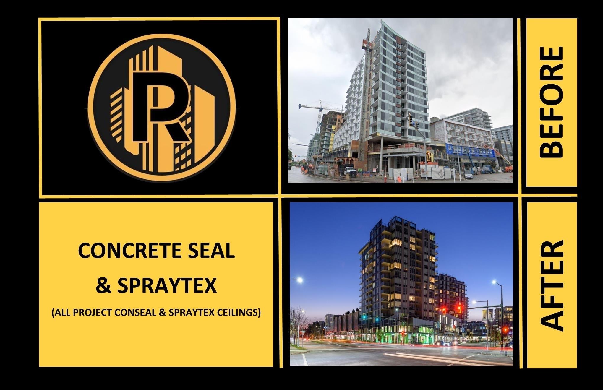 Raudales Enterprise LTD in Vancouver: Concrete Finishing Concrete Repairs Ceiling Finishes Ceiling Repairs Drywall Finishes Drywall Repairs