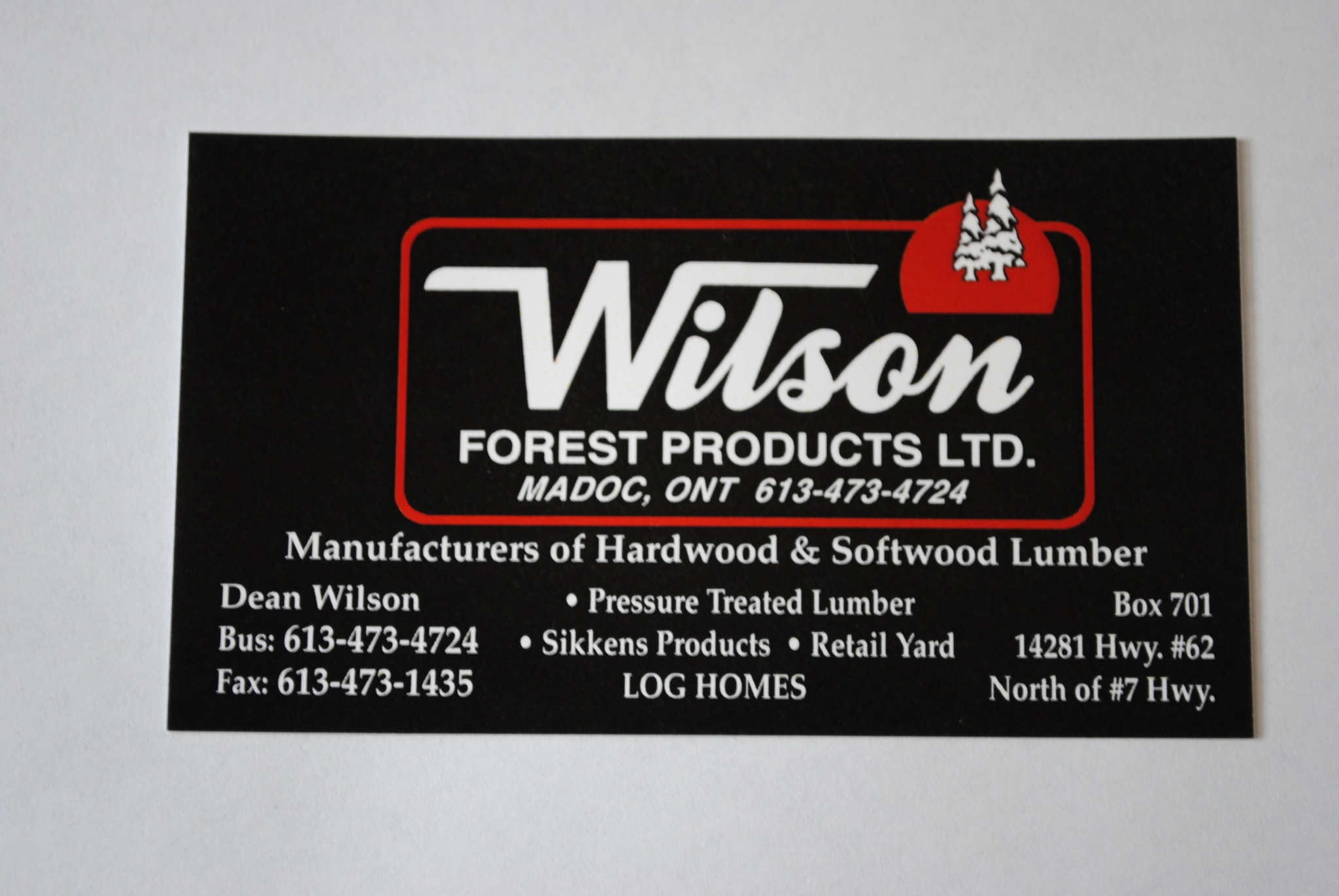 Images Wilson's Forest Products Ltd