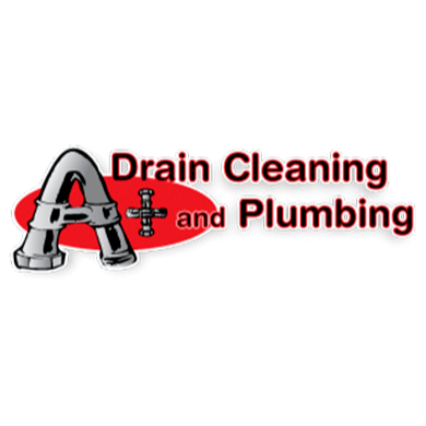 A+ Drain Cleaning & Plumbing Logo