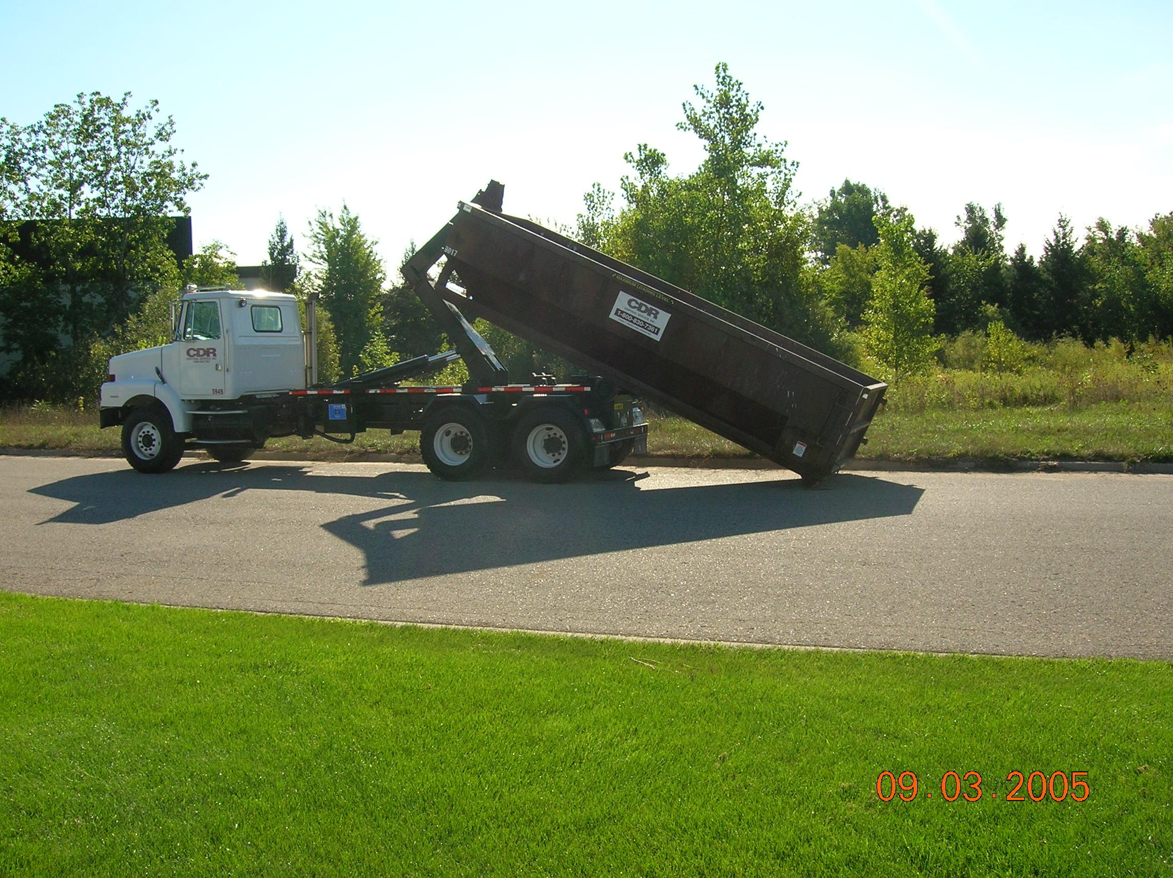 CDR Disposal Service, Inc. - ad image