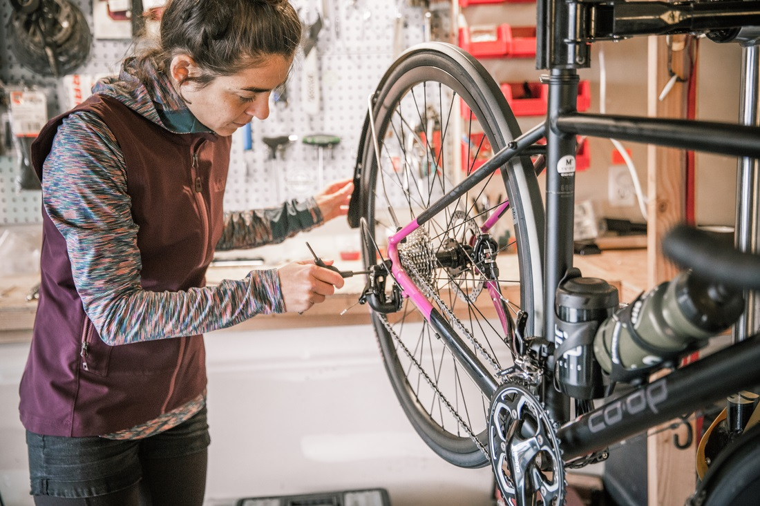 Women's Bike Chains and Derailleurs Workshop