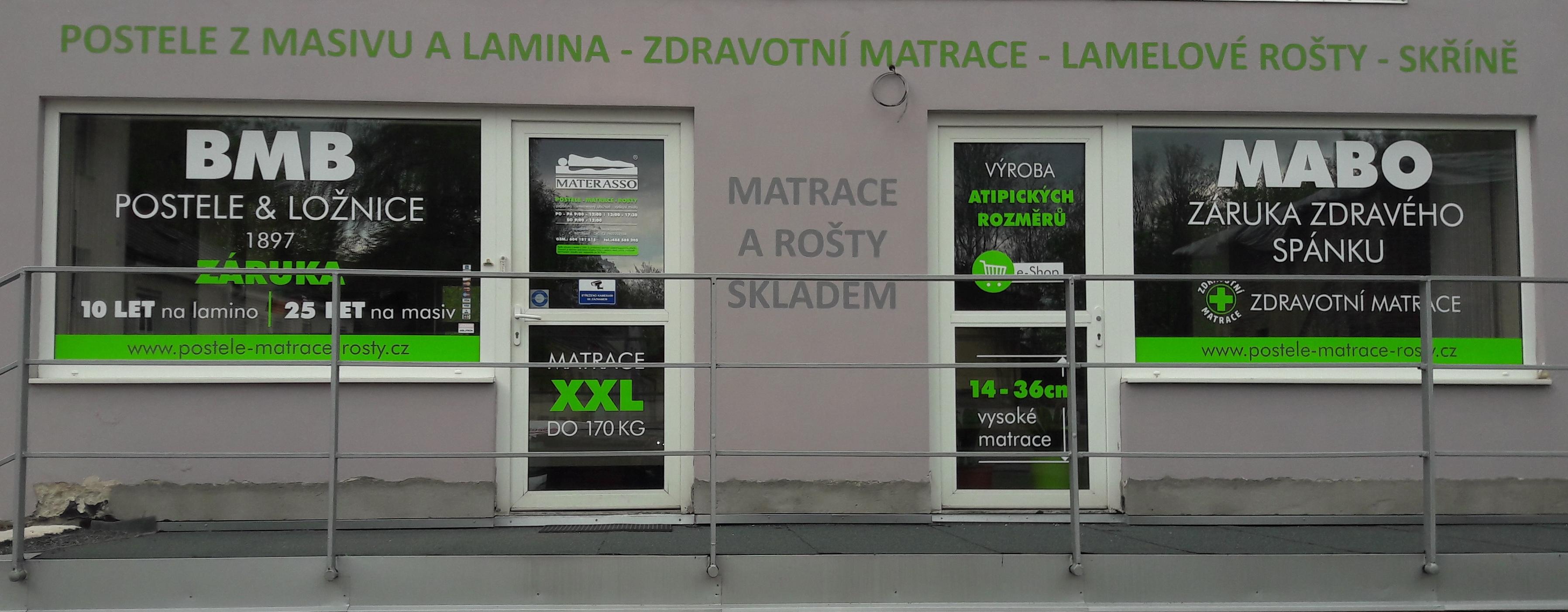 Postele-Matrace-Rošty.cz - Studio zdravého spánku