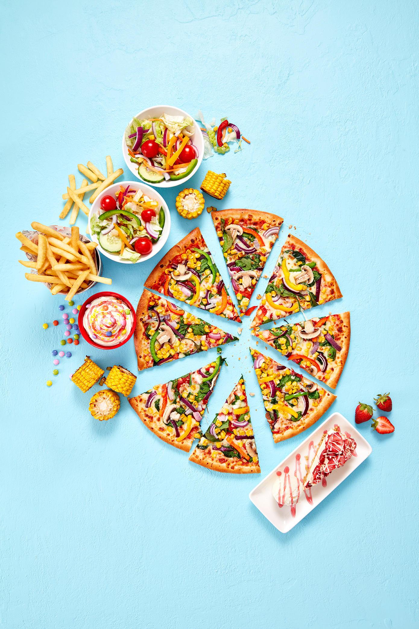 Pizza Hut Restaurants - The Big Sharer Meal Deal! Pizza Hut Restaurants Glasgow 01236 721122