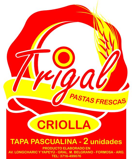 "TRIGAL ""PASTAS CASERAS"""