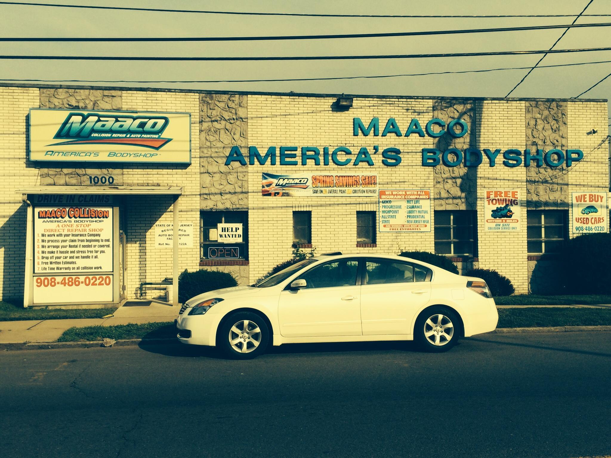Maaco Collision Repair Auto Painting New Jersey