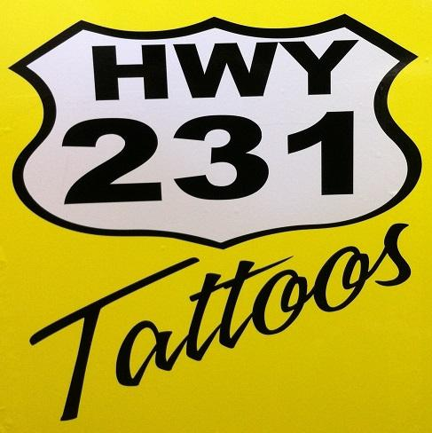 231 Tattoos & Piercing Panama City Florida