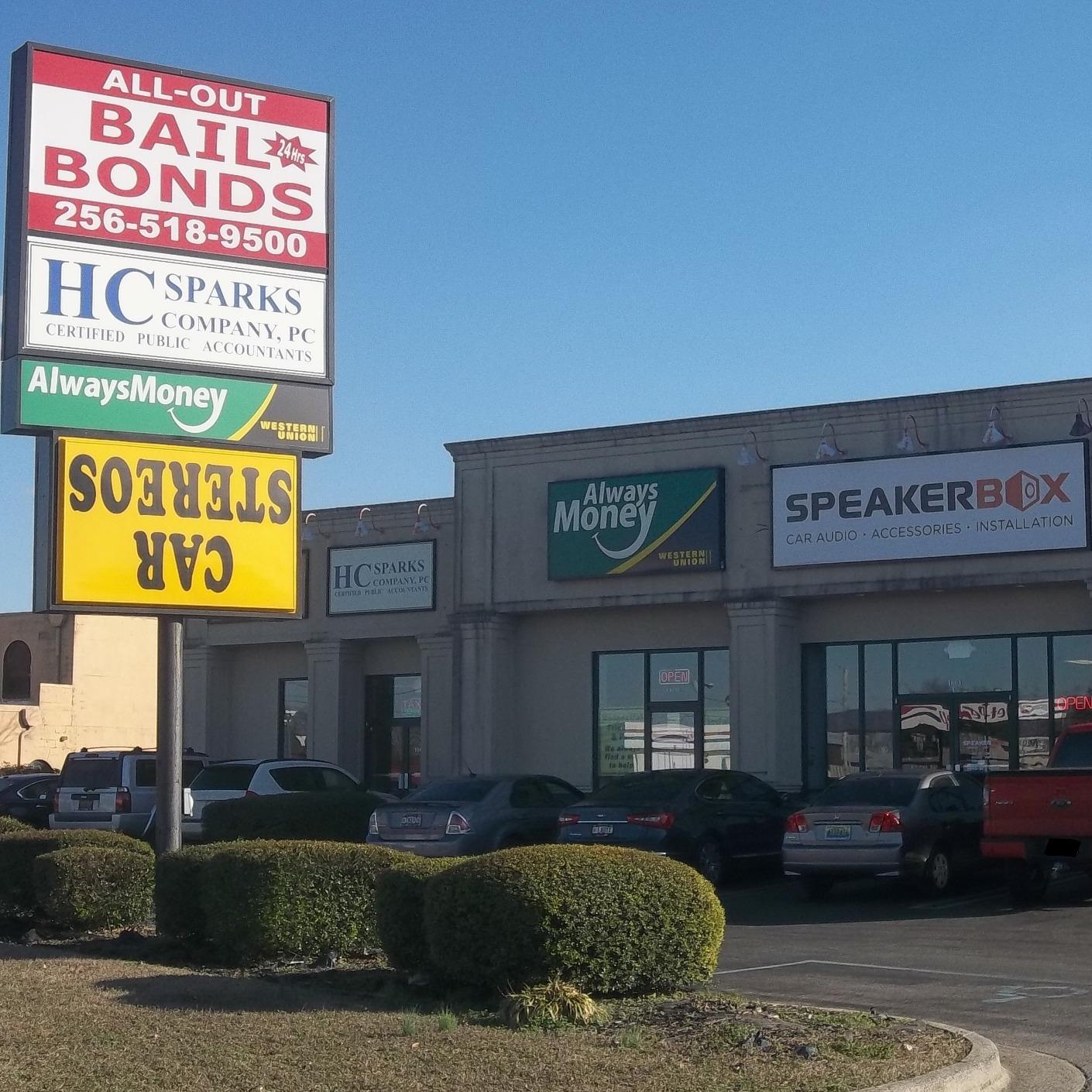 All-Out Bail Bonds - Huntsville, AL 35801 - (256)518-9500 | ShowMeLocal.com