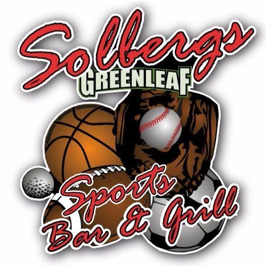 Restaurant in MI Iron Mountain 49801 Solbergs Greenleaf Sports Bar & Grill 1340 Carpenter Ave.  (906)774-4600