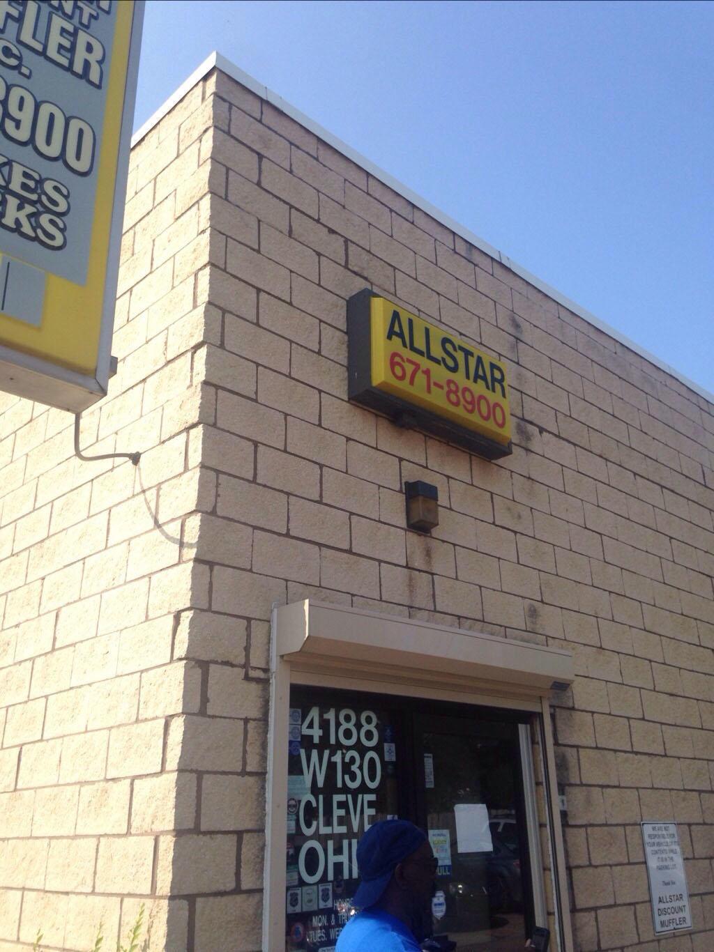 Allstar Discount Muffler Cleveland (216)239-1931