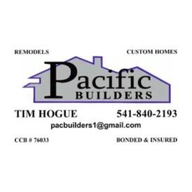 Pacific Builders Tim Hogue - Central Point, OR 97502 - (541)840-2193 | ShowMeLocal.com