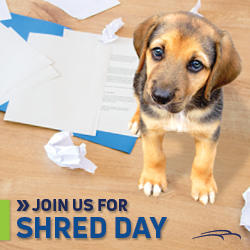 Shred Day at our Canonsburg Financial Center