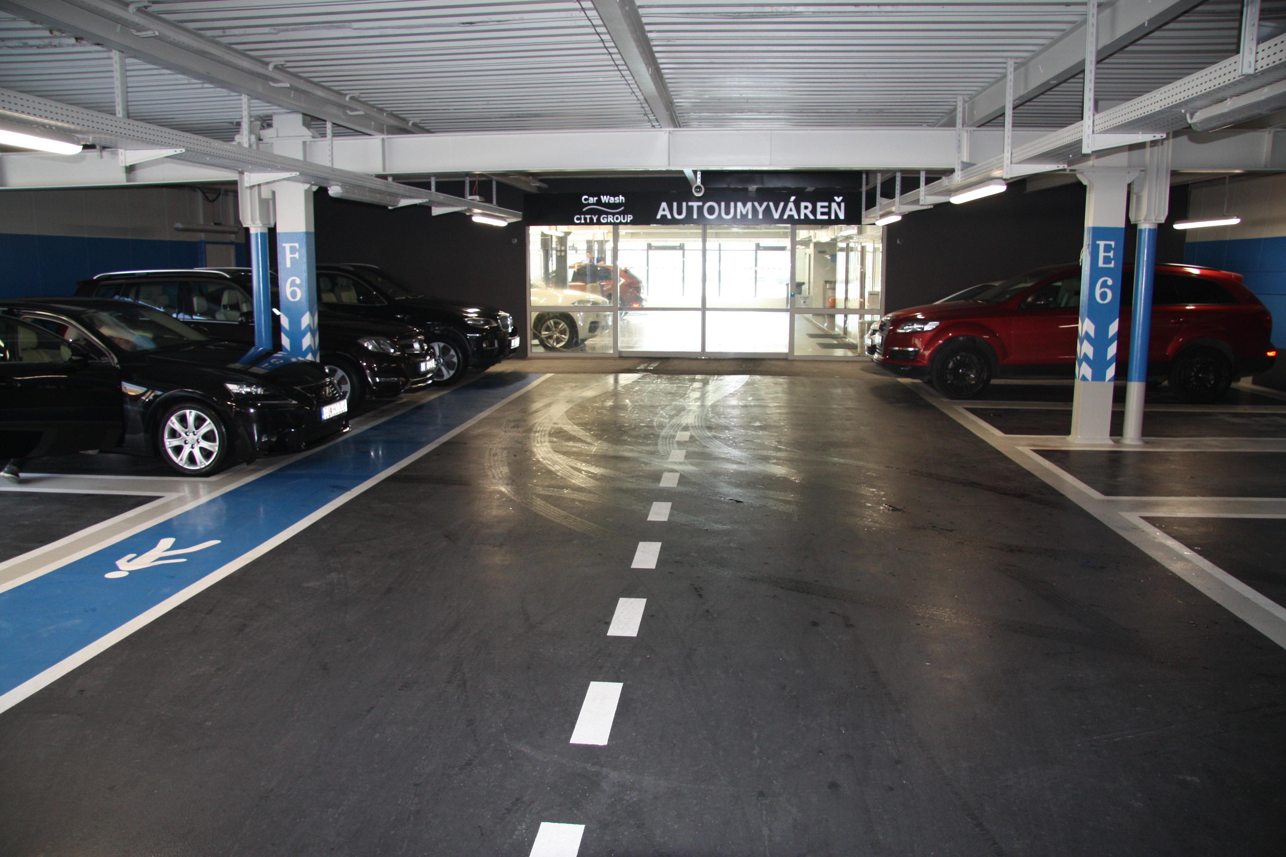 CAR WASH CITY GROUP  AUTOUMYVÁREŇ, Shopping Center Aupark Bratislava