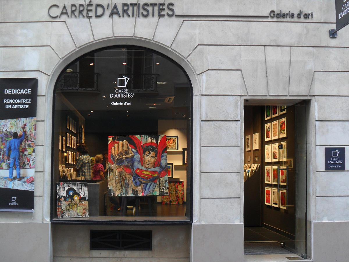 Galerie d'art Carré d'artistes Paris 4 Ile Saint Louis