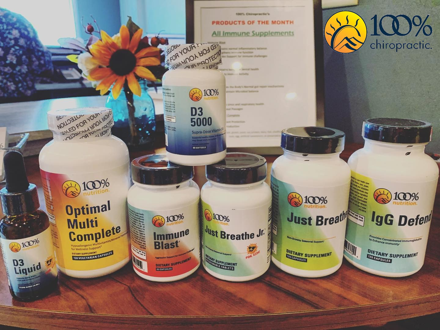 We carry a wide variety of supplements for your health and wellness. It's important to us that we educate our patients and that they can continue to care for themselves between adjustment appointments. Call or stop by today to see our supplement selection!, , Chiropractor