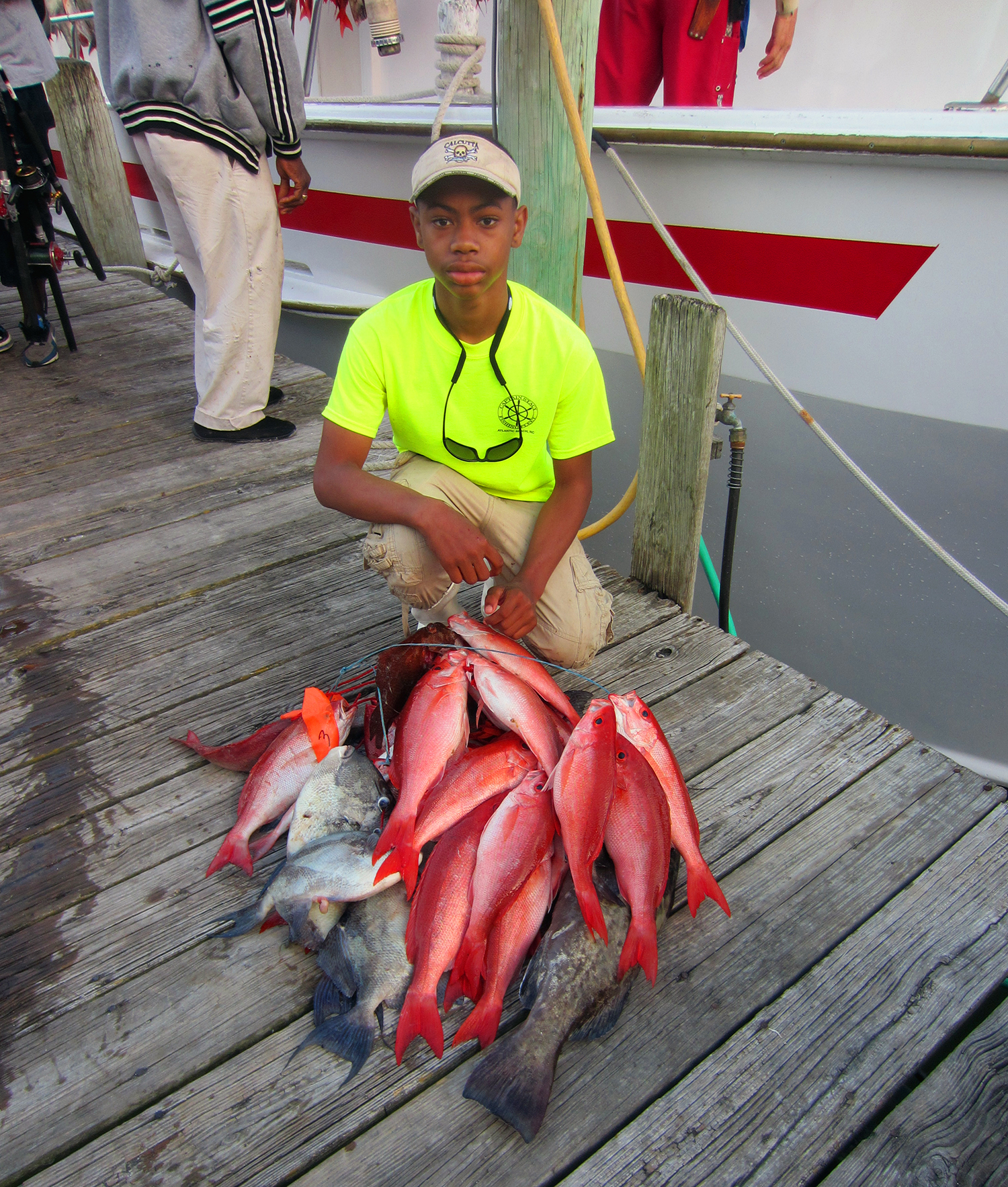 Capt stacy fishing center coupons near me in atlantic for Fishing beaches near me