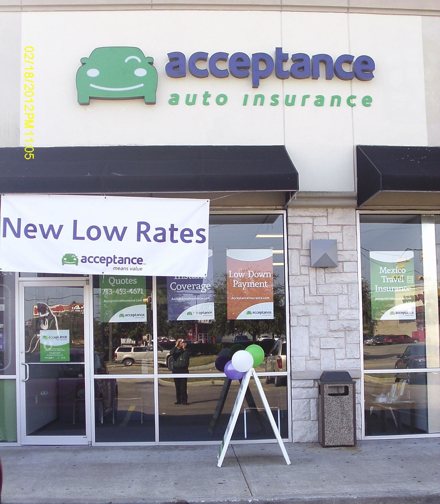 Low Car Insurance Quotes: Acceptance Insurance In Houston, TX