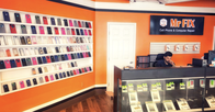 electronics repair shop interior Charlottesville