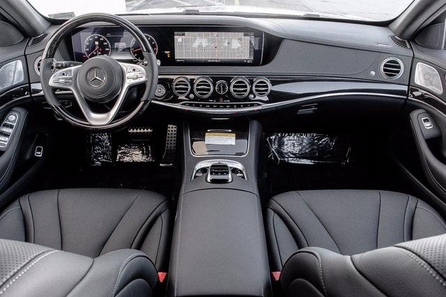 New 2018 Mercedes-Benz S 450 4MATIC interior