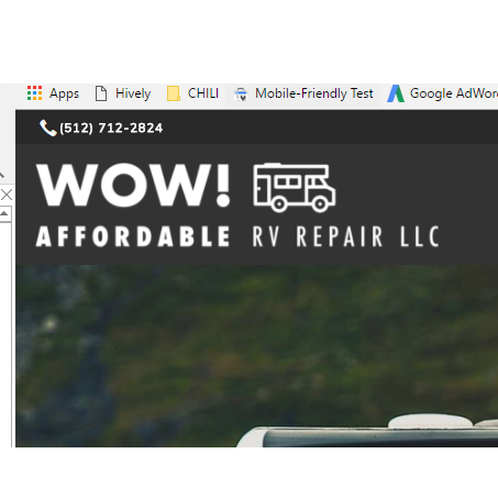 Wow! Affordable RV Repair - Lago Vista, TX 78645 - (512)712-2824 | ShowMeLocal.com