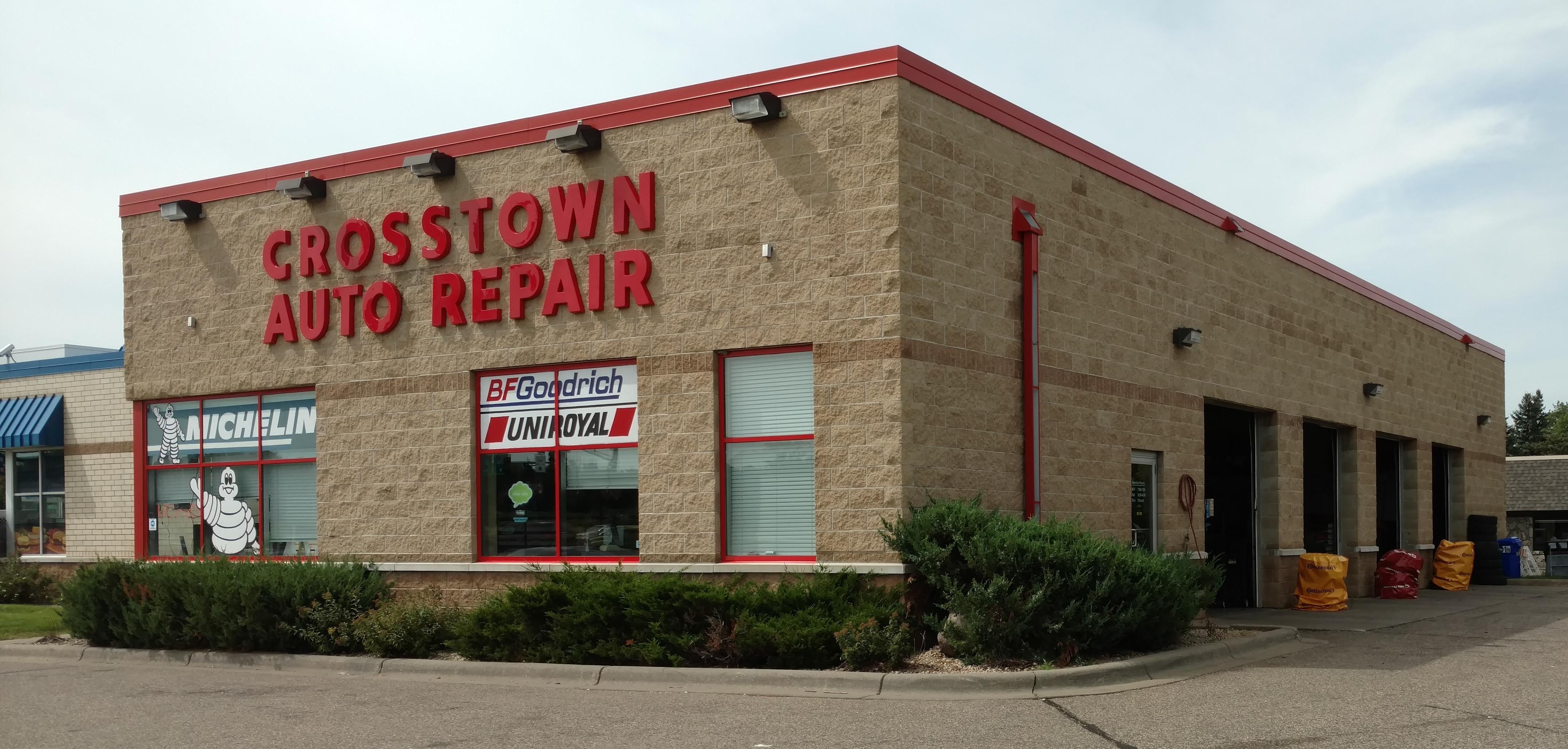 Crosstown auto repair in burnsville mn 55337 for Burnsville motors sales service burnsville mn