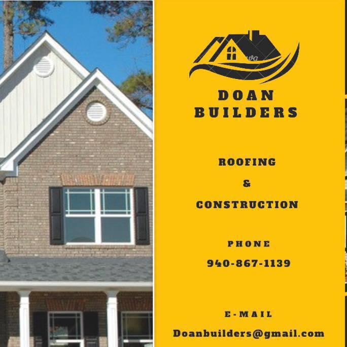 Doan Builders Roofing & Construction - Iowa Park, TX 76367 - (940)867-1139 | ShowMeLocal.com