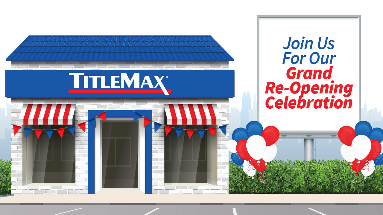 Grand Re-Opening at TitleMax Glenwood, IL