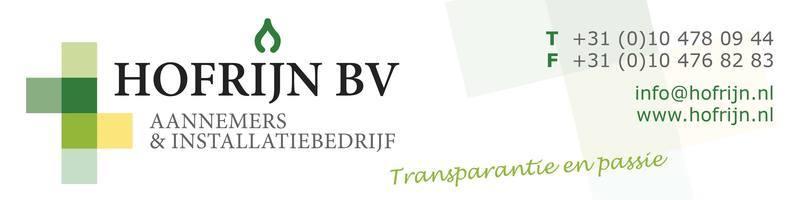 Hofrijn BV Aannemers & Installatiebedrijf