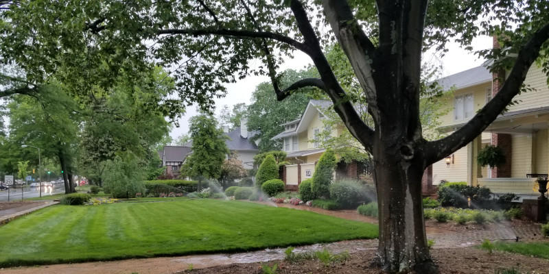 A well-designed and built irrigation system can save you money in the long run.
