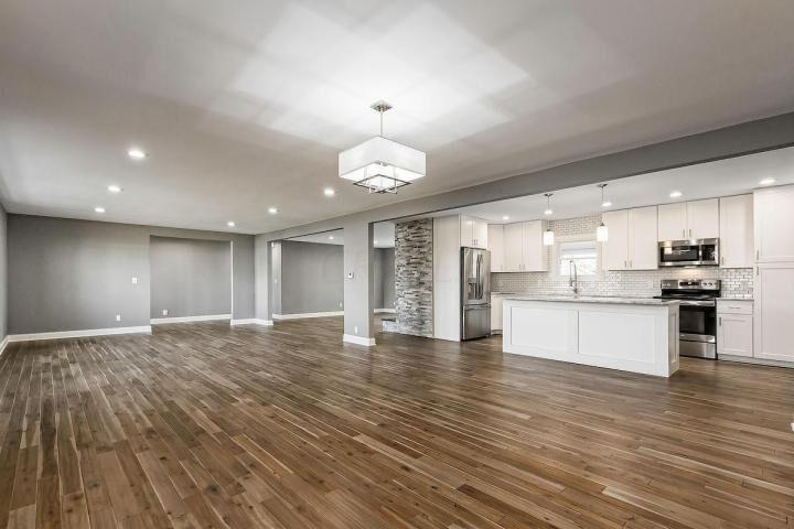GIVE YOUR HOME A NOTICEABLE UPDATE BY INSTALLING NEW FLOORING.
