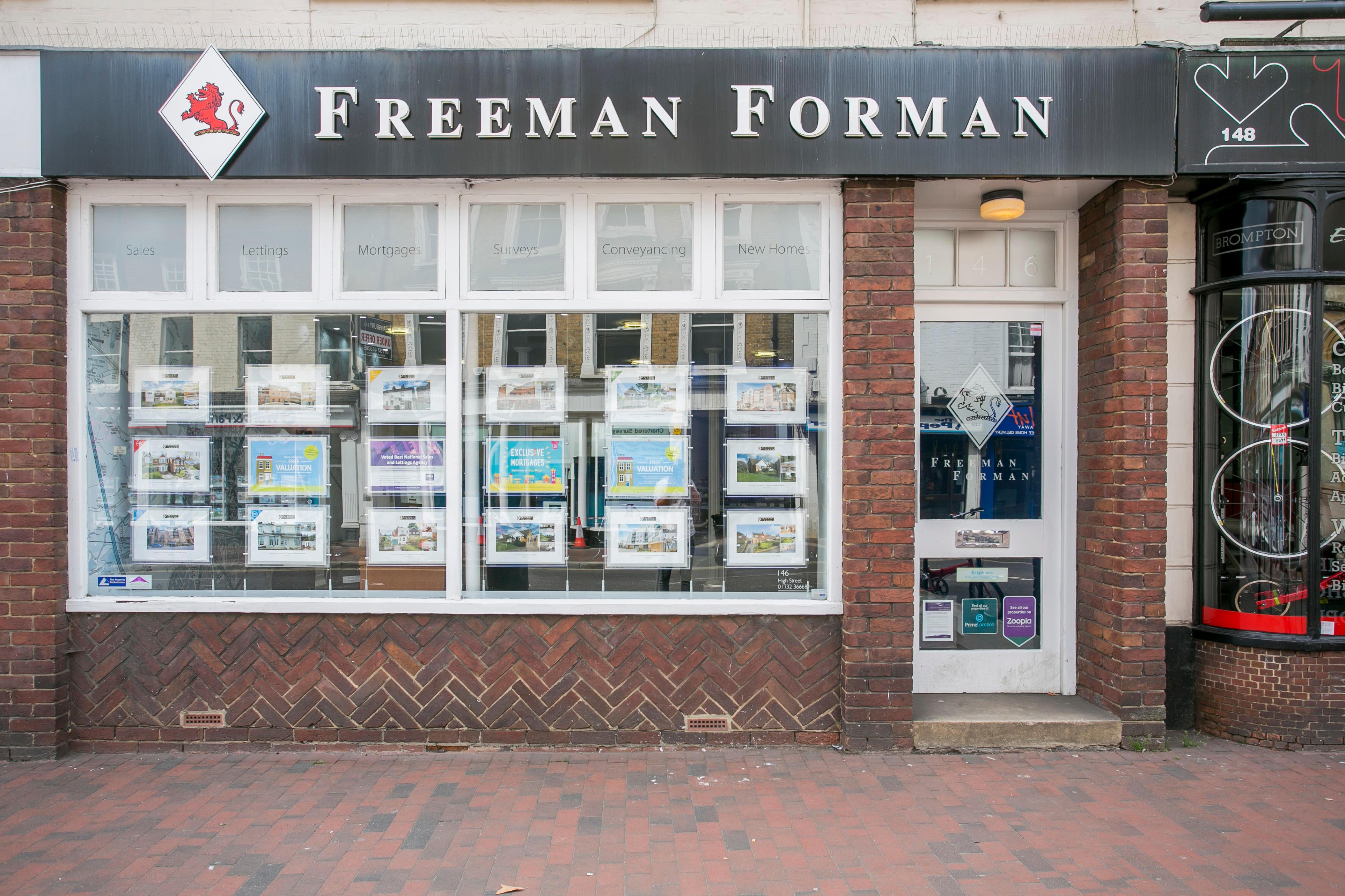 Freeman Forman Estate Agents Tonbridge
