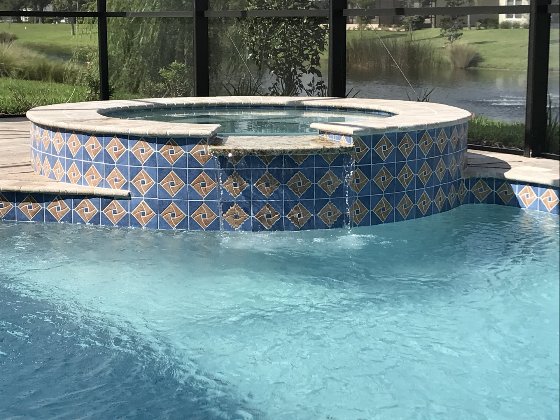 Waldhauer son in palm coast fl swimming pool for Pool dealers