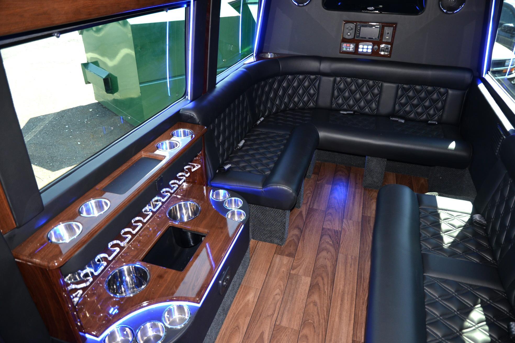 12 Passenger MercedesBenz Sprinter Van  Senzel Limousine