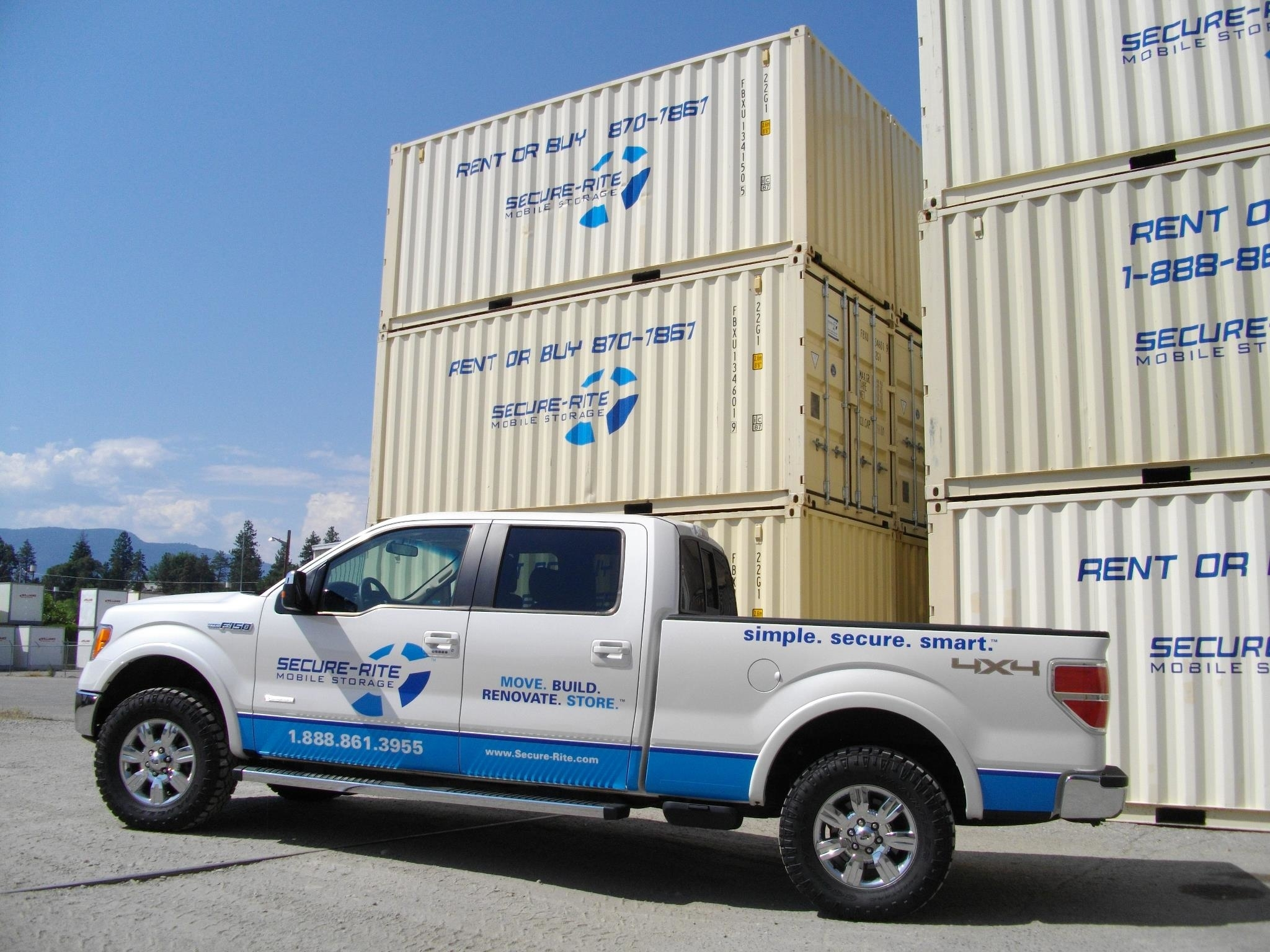 Secure-Rite Mobile Storage Kelowna (250)861-3955