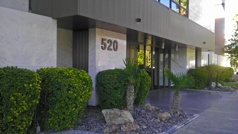 Bail bnds office located in the center of Las Vegas