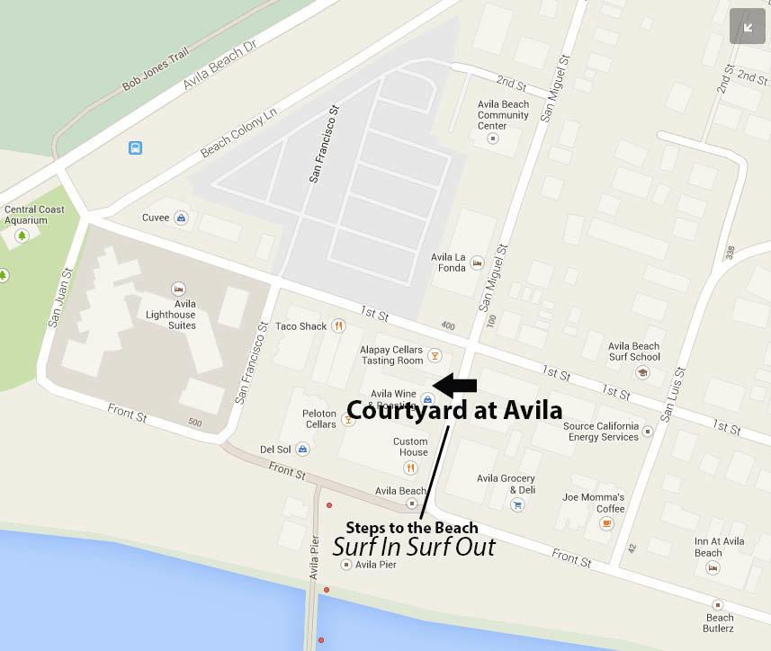 Seven Sisters Vacation Rentals Avila Beach
