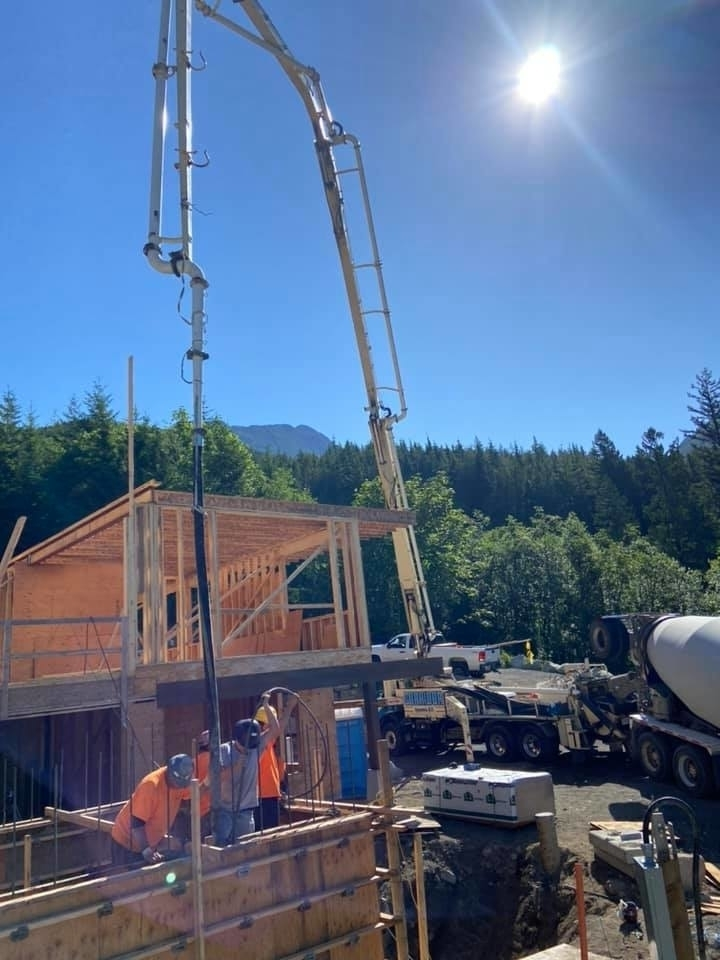 Corridor Concrete Pumping in Squamish