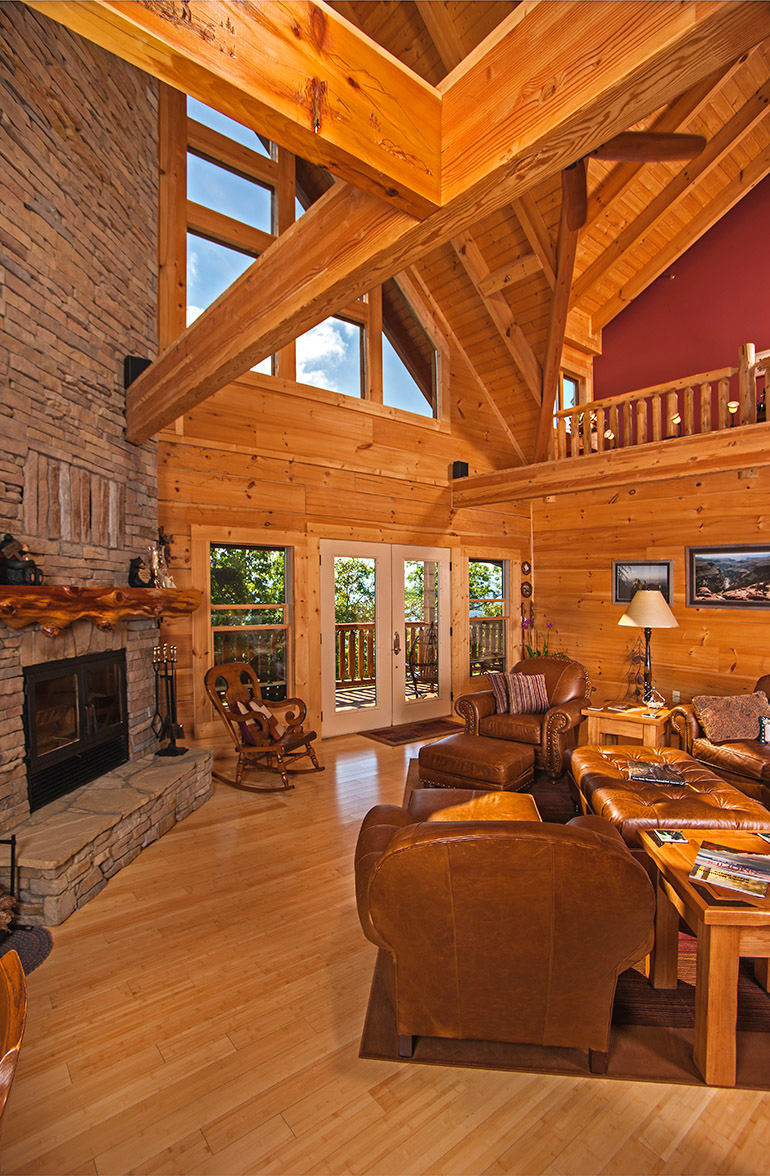 Custom Timber Log Homes image 2