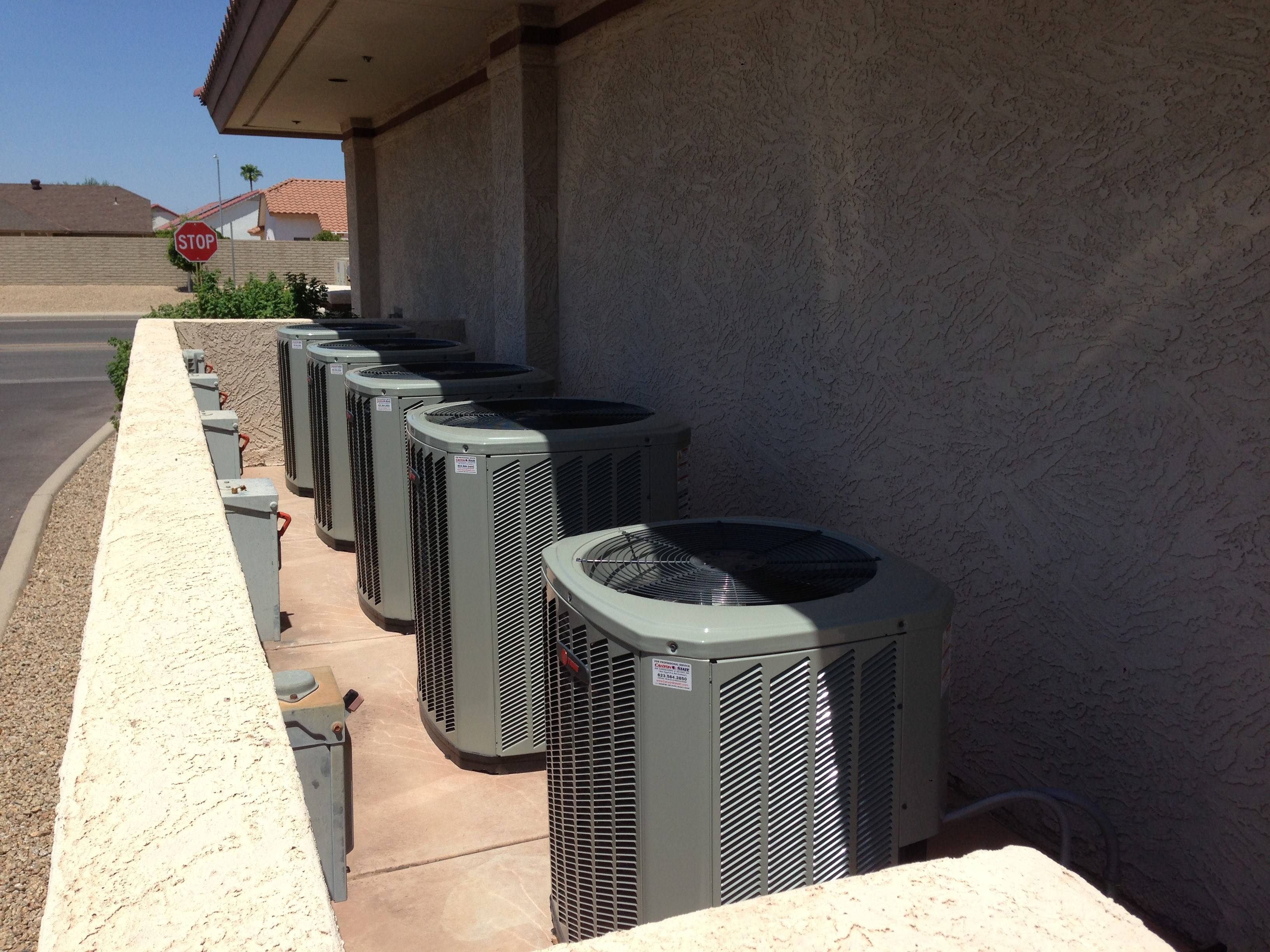 Canyon State Air Conditioning Heating Plumbing 13632 W Camino Del Sol Sun City West Az Mapquest